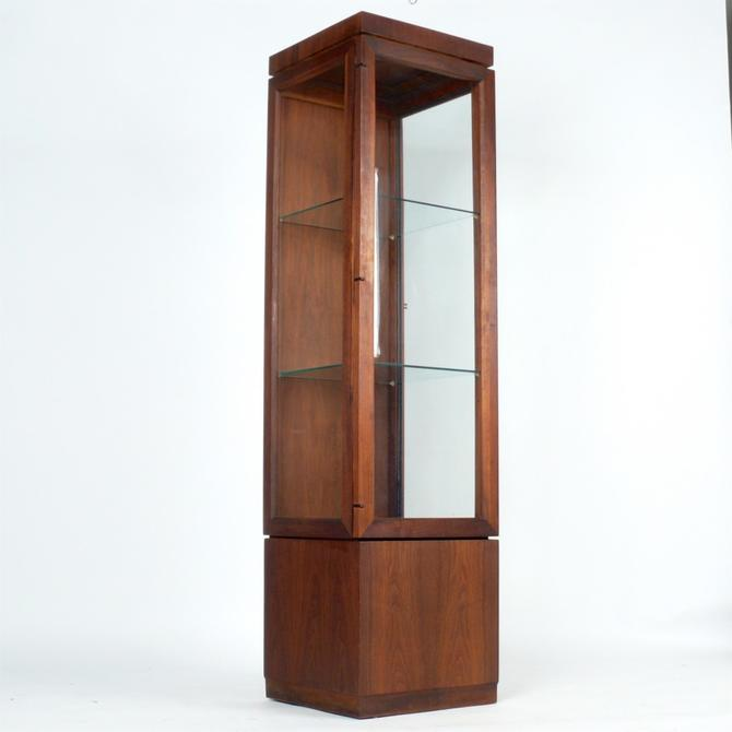 Founders Walnut Display Cabinet