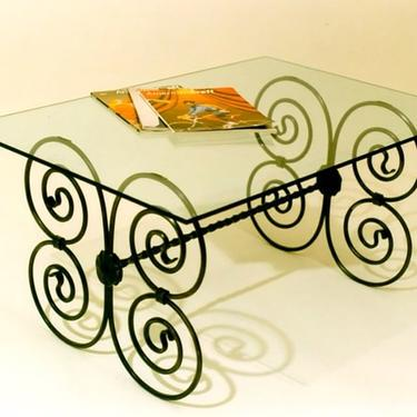 A Neo-Gothic coffee table, made to order.