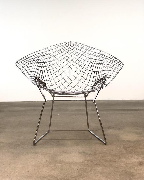 Knoll | Vintage Bertoia Diamond Chair | Mid Century Modern by midcenTree