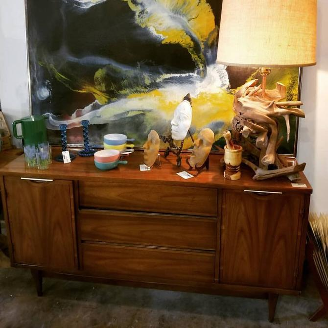 Mid Century Modern Side Board. $500