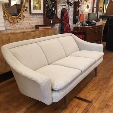 Mid Century Modern Norwegian Skarbos Lenestolfabrikk Stranda Vintage Sofa