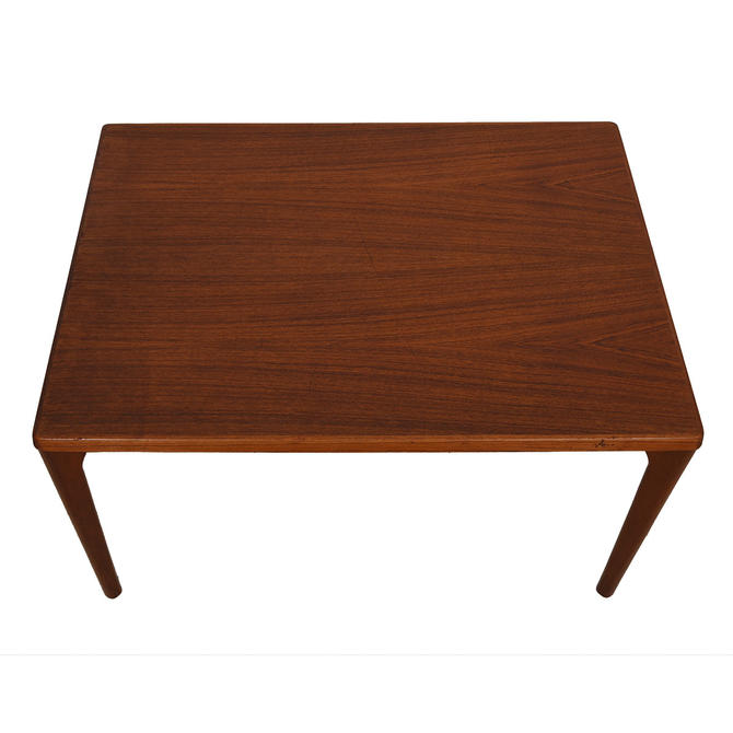 Danish Modern Compact Expanding Dining Table