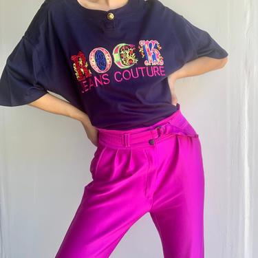 90's VERSACE Jeans Couture ROCK Tee by VintageRosemond