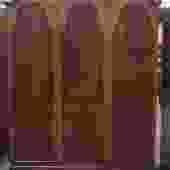 Item #S82 Vintage Triple Door Burl Walnut Armoire c.1930s