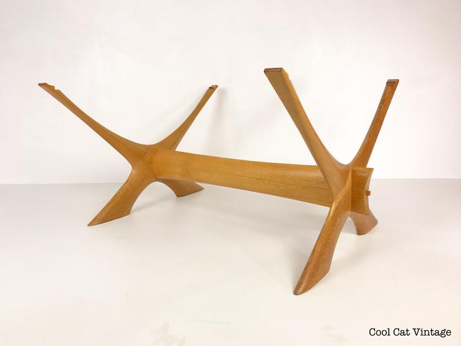 Swedish Modern Condor Coffee Table by Fredrik Schriever-Abeln for Örebro Glas (Frame Only) - *Please see description and shipping notes. by CoolCatVintagePA