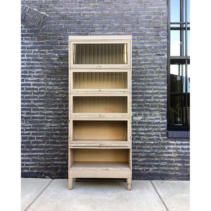 Cool industrial storage barrister bookcase