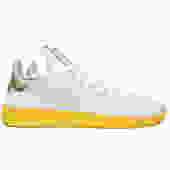 Pharrell Williams Tennis HU (Footwear White/Yellow/Metallic Gold)