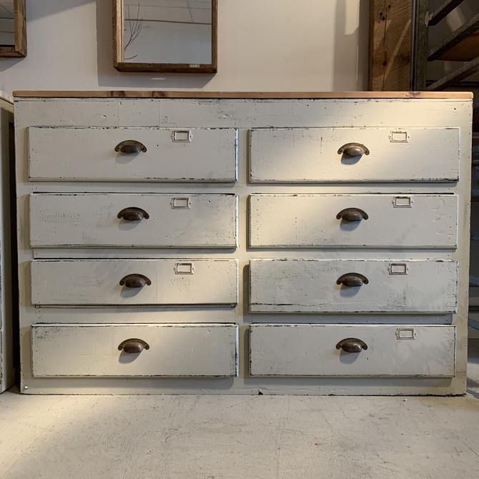 Vintage 8-Drawer Cabinet #2