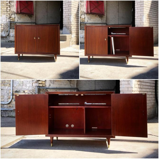 Restored Record-stereo Cabinet