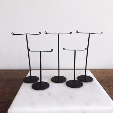 Vintage Metal Earring Holders - Set of 5 by TheDistilleryVintage