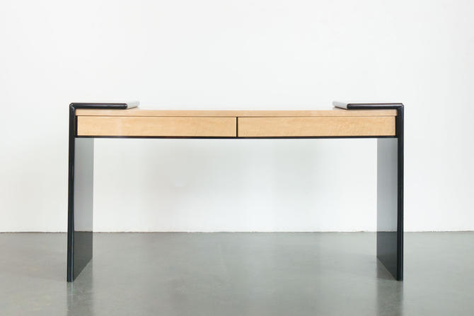 Modern Lacquer Maple Console by HomesteadSeattle