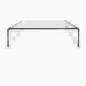 Pace Glass Waterfall Coffee Table 1970s