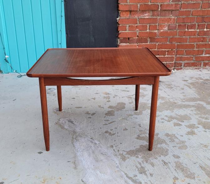 Danish Teak Corner Table