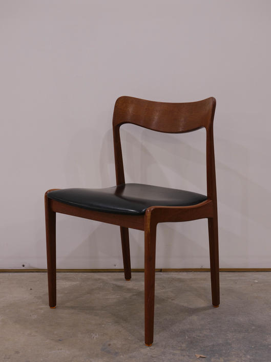 Vintage Danish Modern Teak Chair by FarOutFindsNYC