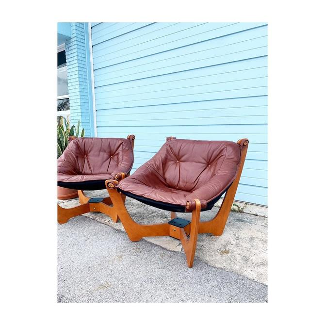 Pair of Mid Century Luna Chairs by FlipAtik