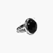 Polished Onyx Ring