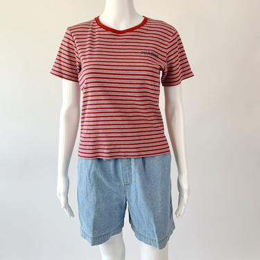 Polo Jeans Red Striped Tee