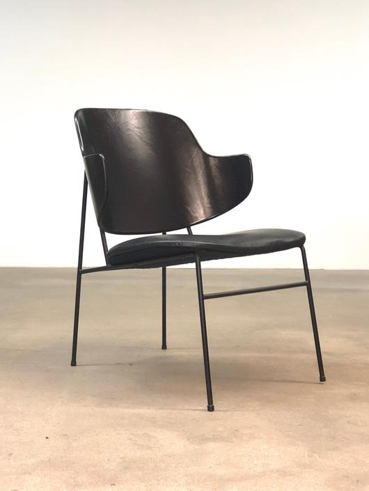 Kofod Larsen   Penguin Lounge Chair   Danish Modern by midcenTree