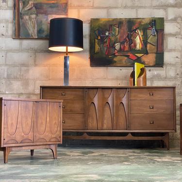 Broyhill Brasilia Walnut Dresser