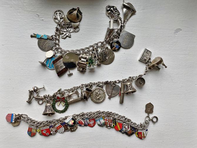 Vintage Charm Bracelet Set (3) by SpeakVintageDC