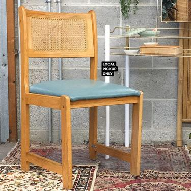 LOCAL PICKUP ONLY ———— Vintage Cane Chair by RetrospectVintage215