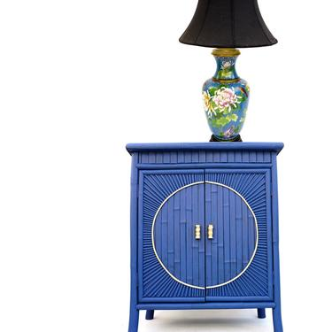 Large Chinese Cloisonné Baluster Lamp   Colorful Flower & Bird Motif   Asian Hollywood Regency Chinoiserie Chic Statement Lighting by ELECTRICmarigold
