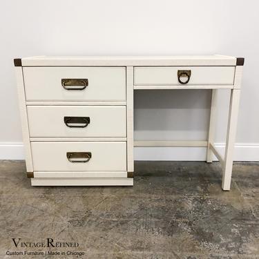 CUSTOMIZABLE: Drexel Desk / Vanity by VintageRefinedDecor