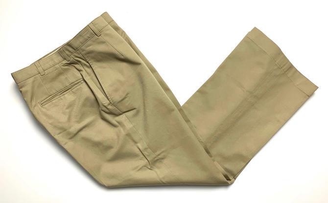 Vintage Women's US Navy Uniform Trousers ~ 28 Waist / size 5 ~ Military Pants ~ USN ~ Khaki ~ by SparrowsAndWolves