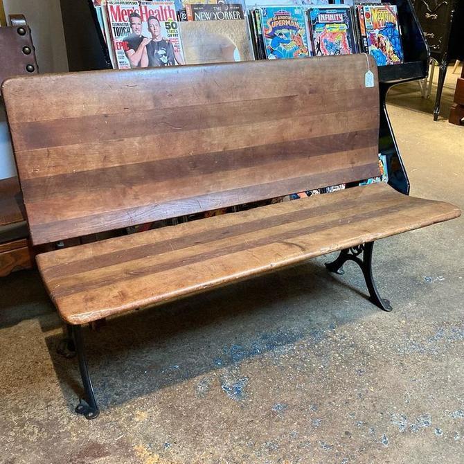 "Folding bench. No gum!! 42"" x 14"" x 14"""