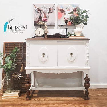 Small Jacobean sideboard by BrushedbymaddieArt