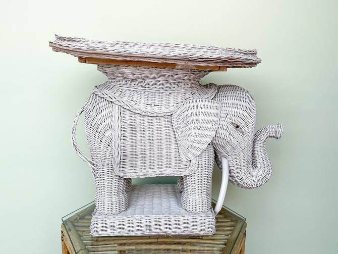 Wicker Elephant