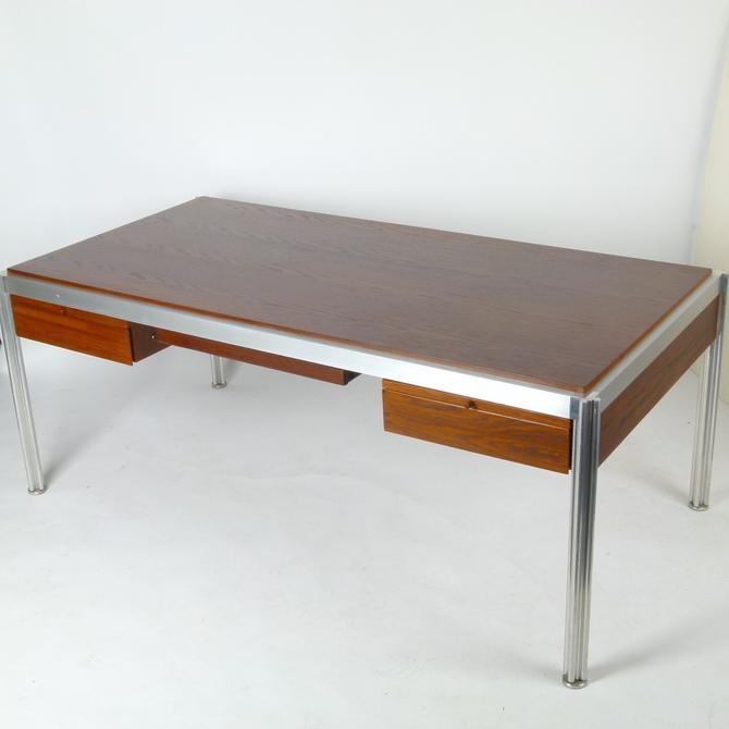 Jens Risom Aluminum Frame Desk