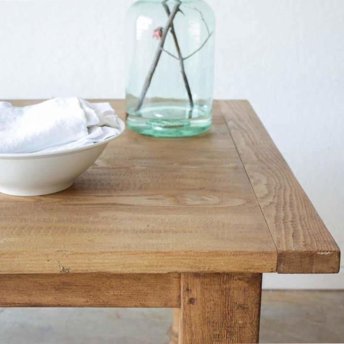 Custom Reclaimed Wood Dining Table