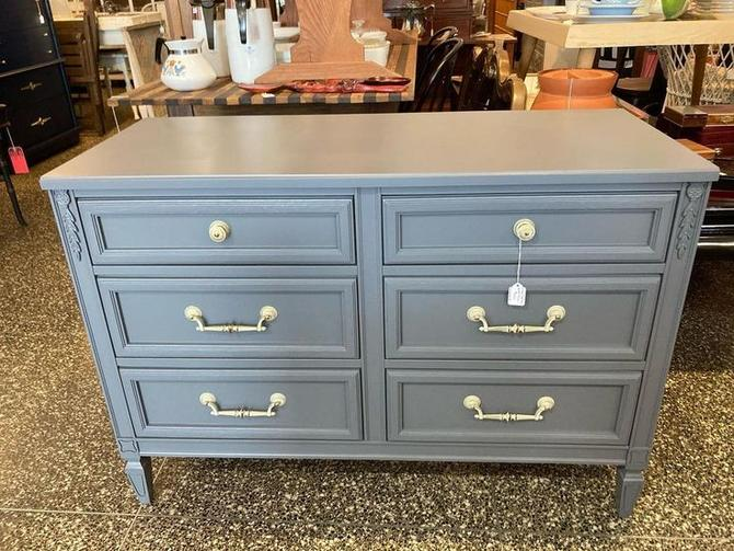"""Grey traditional small dresser, 43"""" x 18"""" x 30"""" 2 available"""