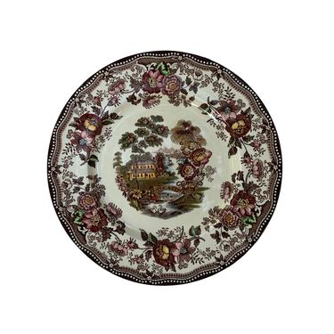 """Royal Staffordshire """"Tonquin"""" Dinner Plate by Clarice Cliff by FunkyRelic"""