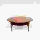 Peter Hvidt Coffee Table in Solid Teak