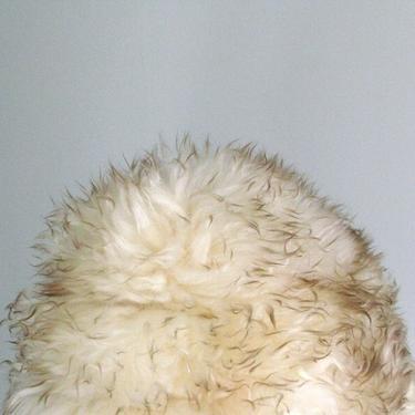 Big Wooly Lambskin Fur Hat by circlethesquare