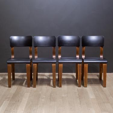 Thonet Bentwood Bakelite Dining Chairs c.1930