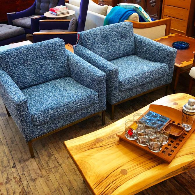 Milo Baughman Club Chairs