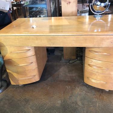Heywood Wakefield Maple Desk by bcdrygoods