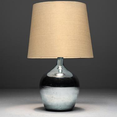 Mirrored Table Lamp