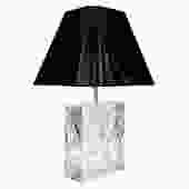 Les Prismatiques Chic Table Lamp in Lucite 1970s
