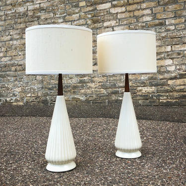 Mid-century Meets Modern Lamps
