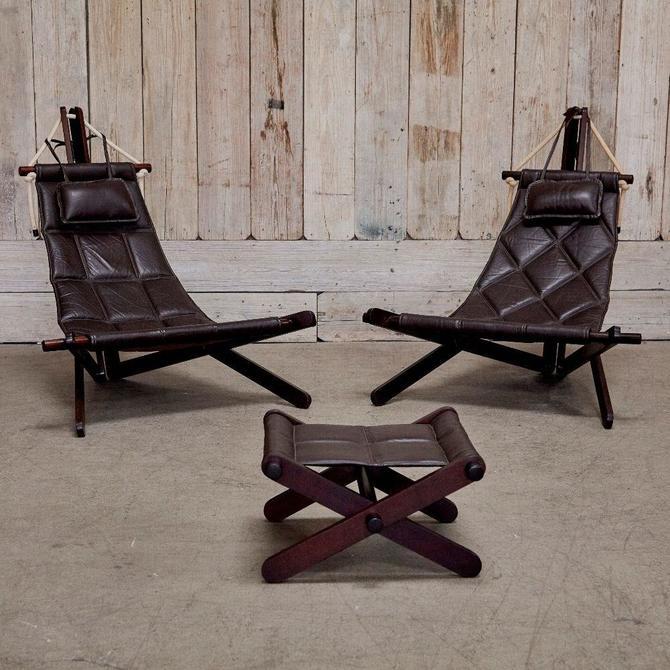 Dominic Michaelis Sail Chair Set for Moveis Corazza