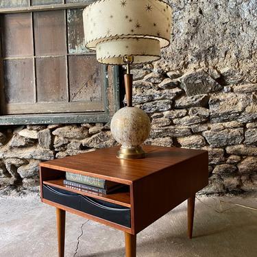 Mid century table lamp Danish modern lamp mid century modern lighting by VintaDelphia