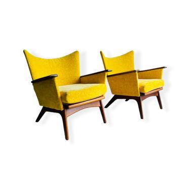 Rare Pair Adrian Pearsall Lounge Chair Mid-Century Modern