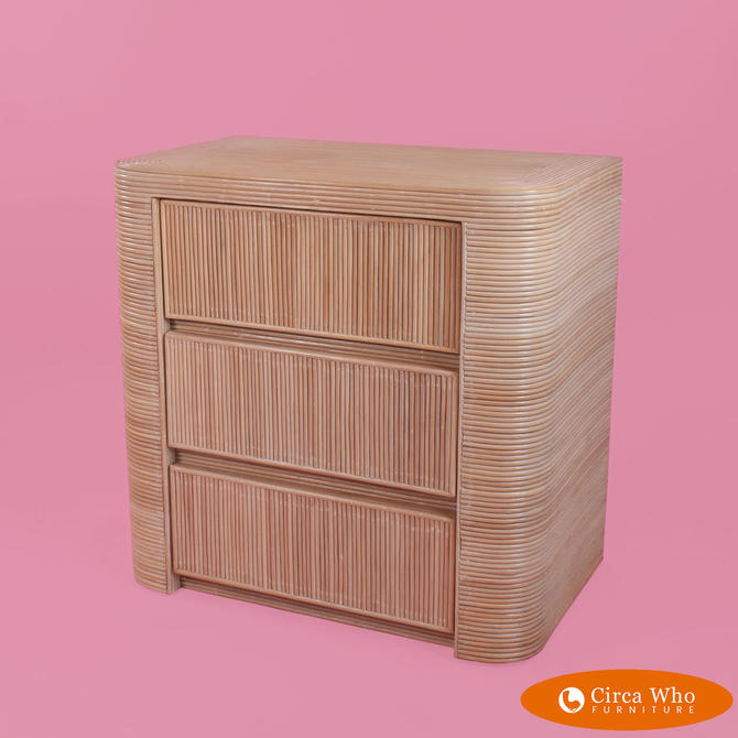 Blonde Pencil Bamboo Chest