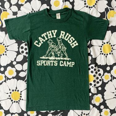 Cathy Rush Sports Camp 70's Tee!
