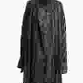 Dries Van Noten Charcoal Coat