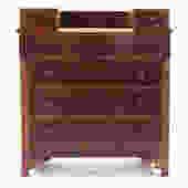 American Classical Mahogany Dresser